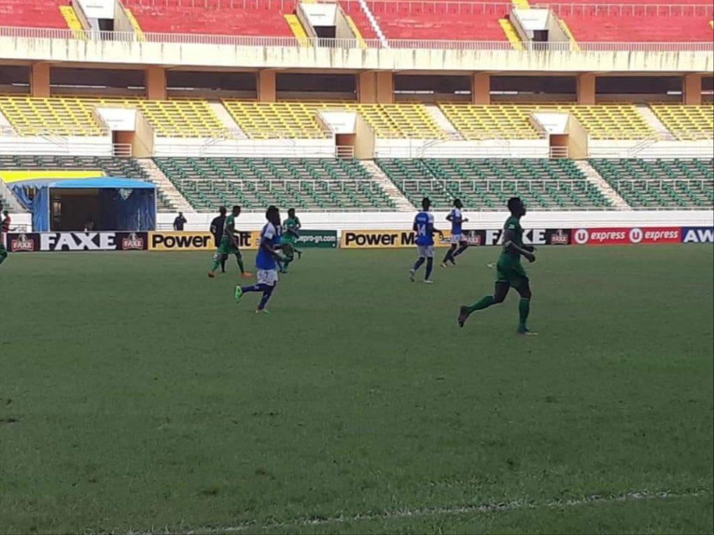 Ligue 1: le Horoya domine Santoba, la SAG s'incline