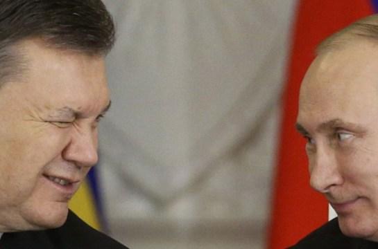 Yanukovich y Putin