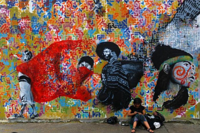 Arte urbano en Caracas durante el gobierno de Chávez