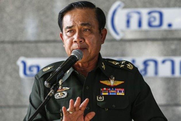 El jefe del Ejército tailandés Prayuth Chan-Ocha
