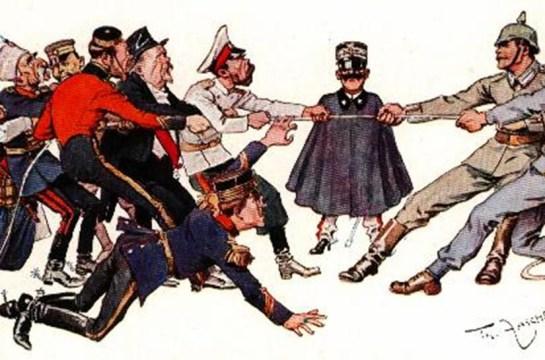 Póster de la Gran Guerra: contendientes