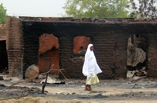 Restos de la masacre en Baga (Nigeria) perpetrada por Boko Haram