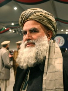 Abdul Rasul Sayyaf. Candidato a la presidencia de Afganistán. REUTERS/Ahmad Masood