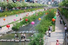 Cheonggyecheon, Seúl