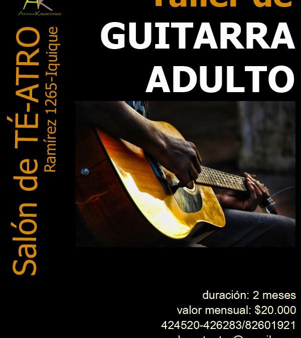 Taller de Guitarra Adulto – Iquique 2011
