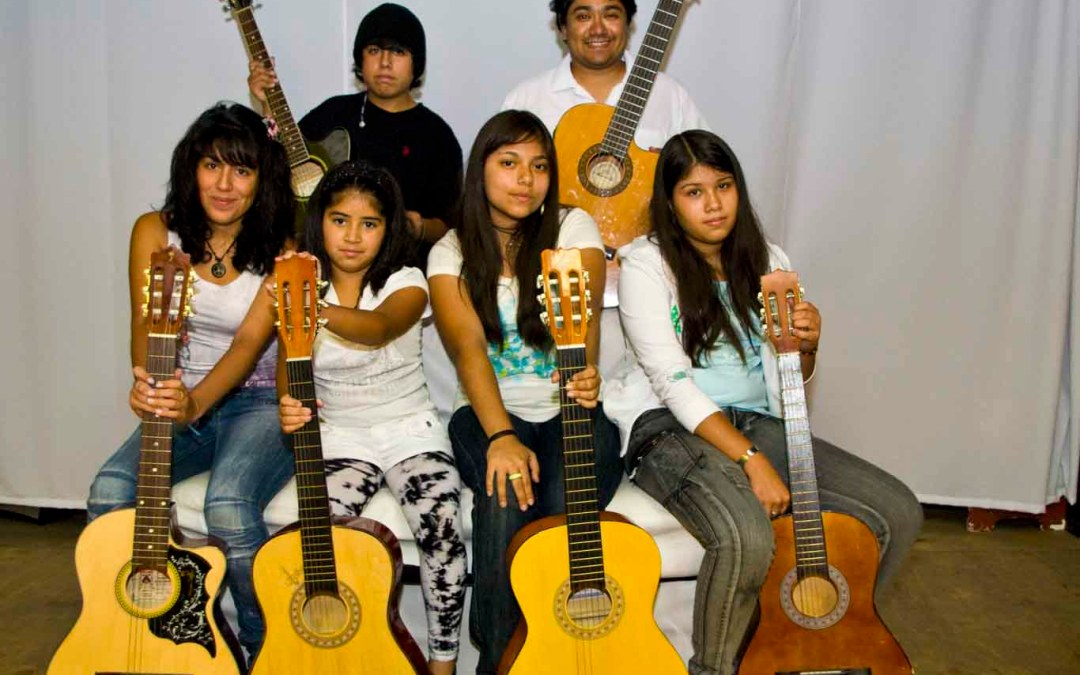 Taller de Guitarra Infantil – Iquique 2011