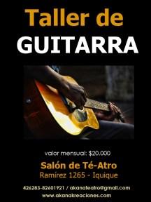 Taller de Guitarra Verano 2012