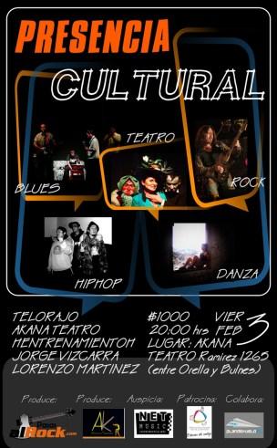 presencia cultural - iquique 2012