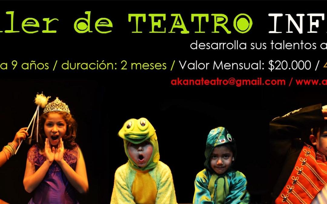 Taller de Teatro Infantil – Octubre – Iquique 2012