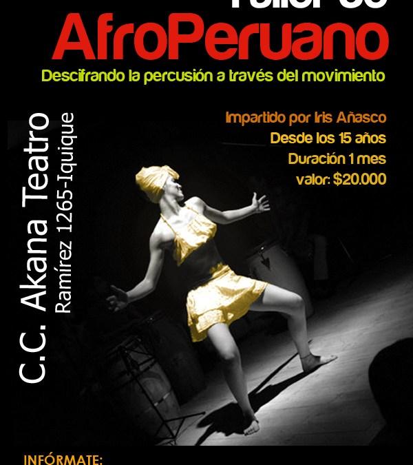 Talleres Artísticos Nov/Dic 2012: AfroPeruano – Iquique