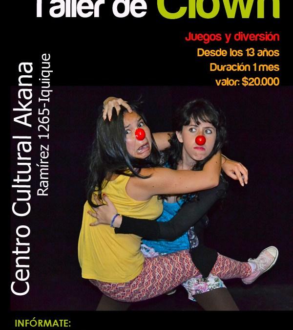 Talleres Artísticos Nov/Dic 2012: Iniciación al Clown – Iquique