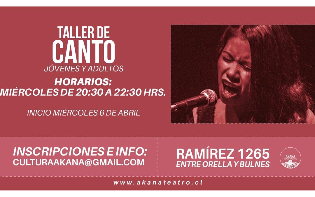 Taller de Canto – 2016