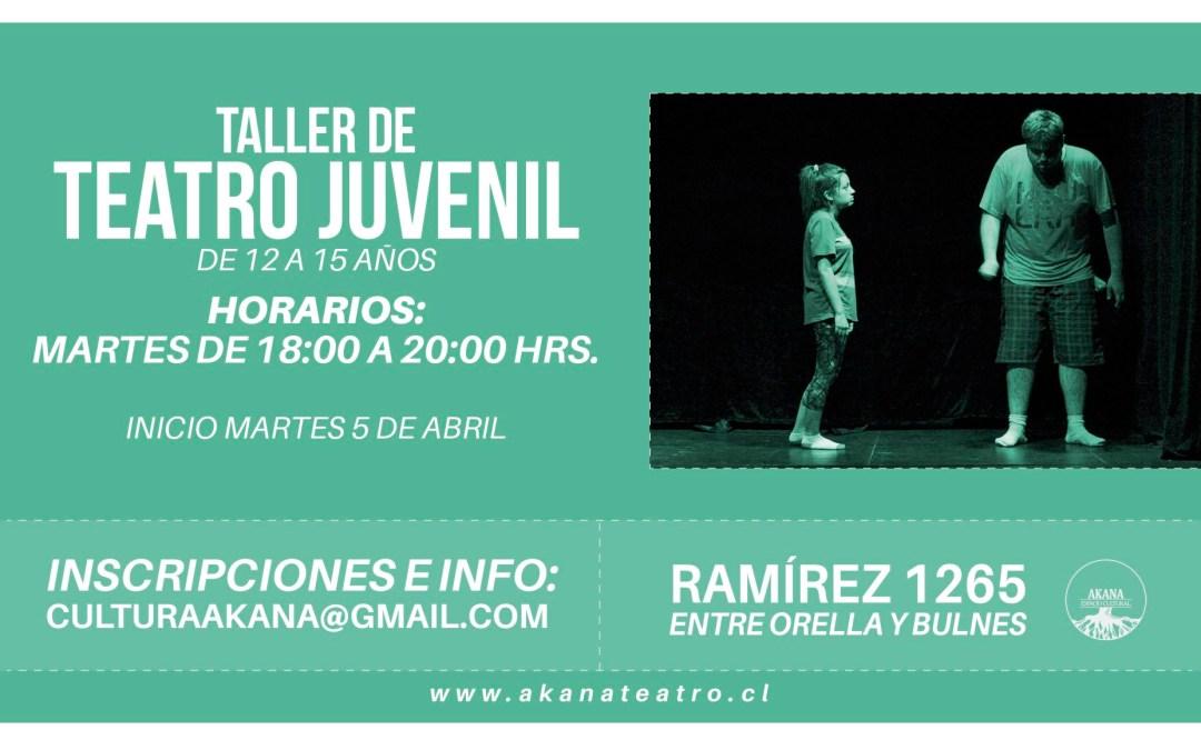 Taller de Teatro juvenil – 2016