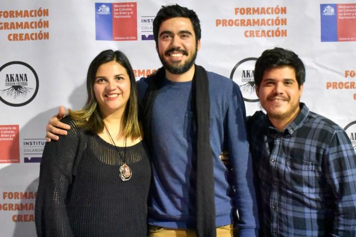 Paula Seguel, Jonathan Urquieta, Rodrigo Bolados