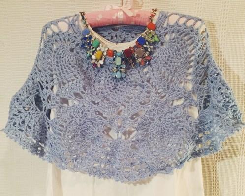 Poncho a crochet