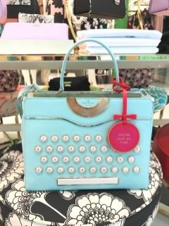 Máquina de escribir, por Kate Spade