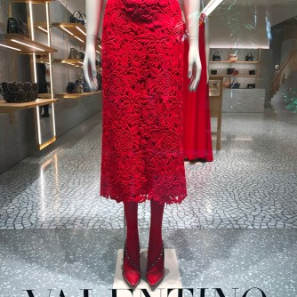 Encaje de guipure por Valentino
