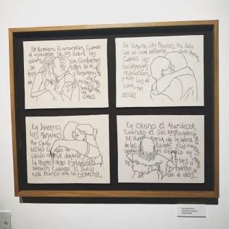 """""""Estaciones circulares"""" de Gloria Dicovsky"""