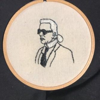 Karl Lagerfeld por Atsumi