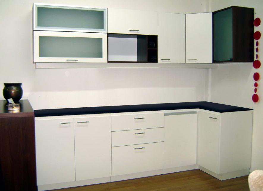 muebles con diferentes materiales de muestra