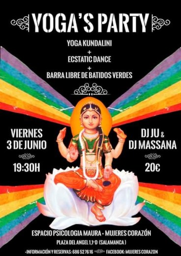 Yoga's Party