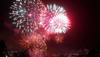 Siete Comunas Del Gran Concepcion Celebran Con Fuegos Artificiales