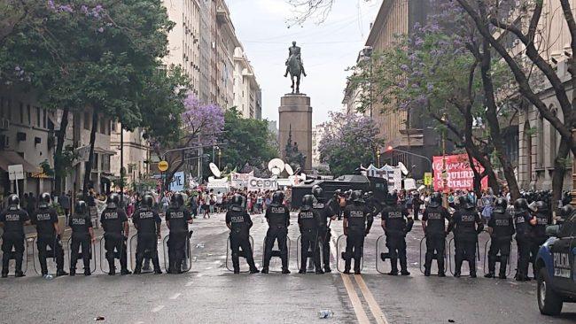 docentes policia