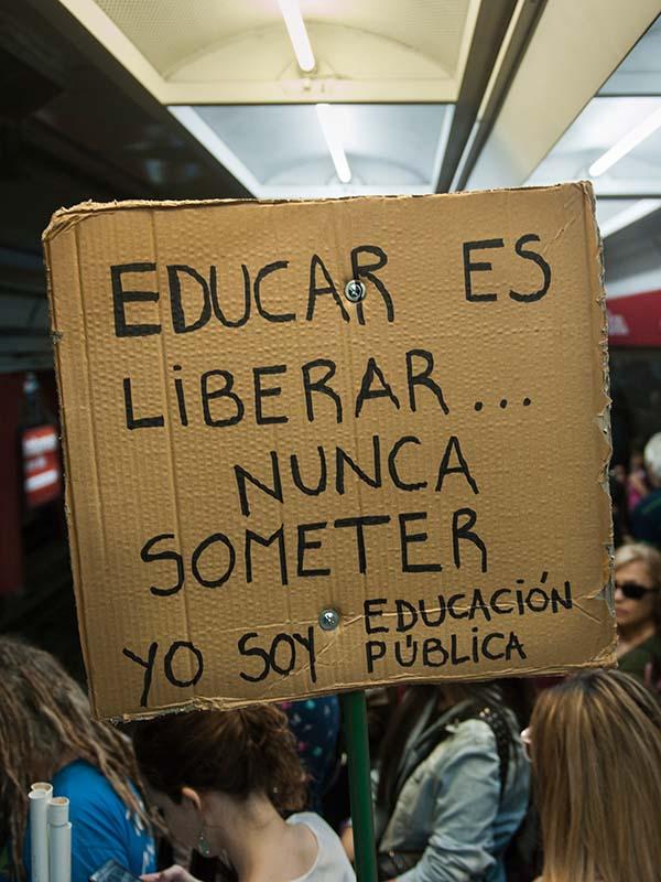 educar es liberar