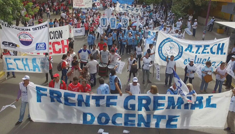 frente gremial docente chaco