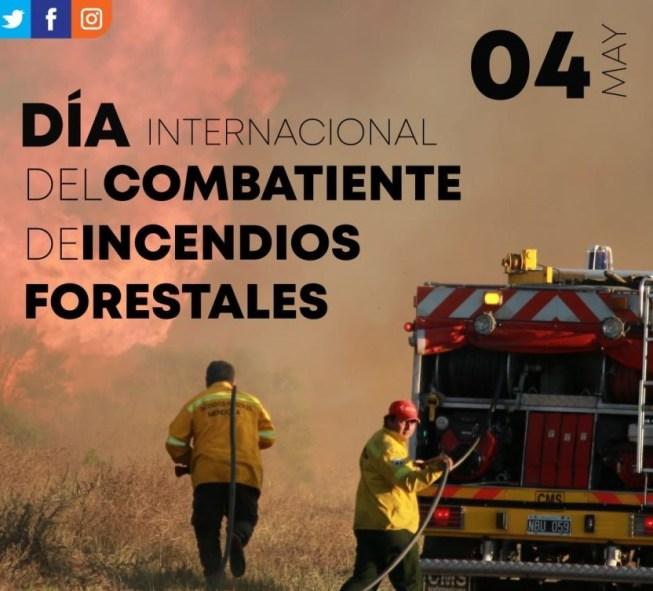 4 de mayo combatiente de incendios