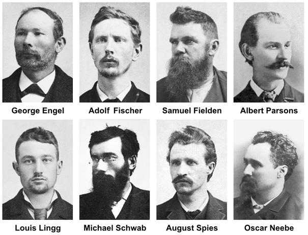 los martires de chicago 1ro de mayo