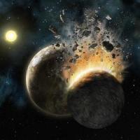 Evidencia de polvo de estrellas apunta a colisión de planetas