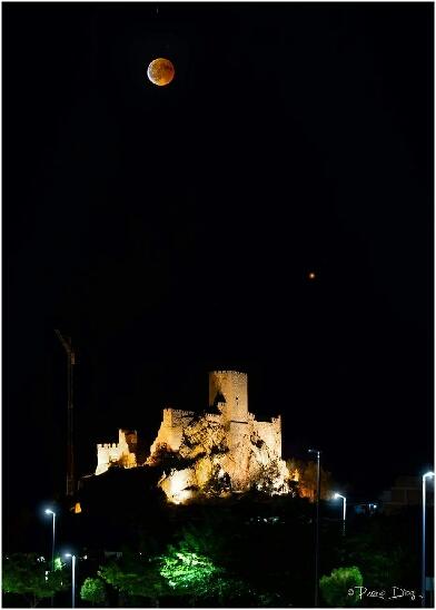 Eclipse lunaire Almansa