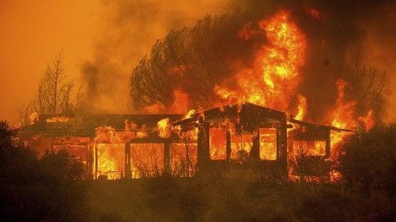 incendio de una casa