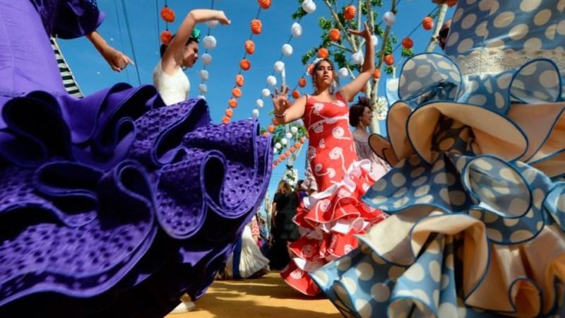 Feria de abril Sevilla Espagnol pas à pas