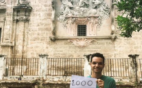 Espagnol pas à pas Facebook 2000 likes