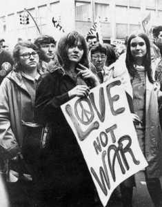 love, not war