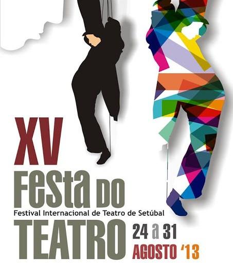 cartaz festa do teatro