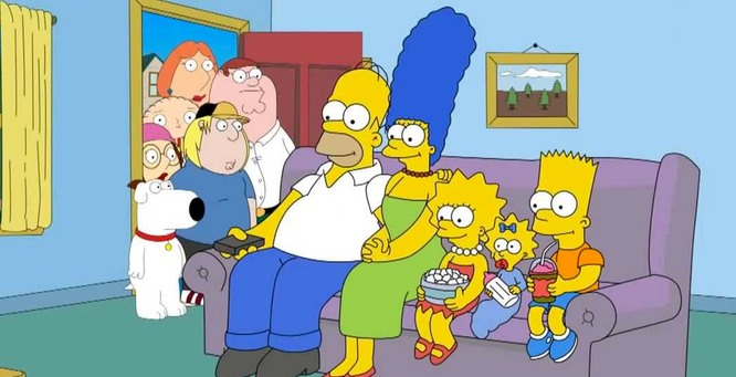 The Simpsons e Family Guy