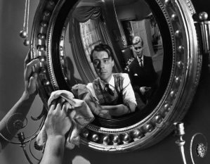 Dirk Bogarde and James Fox in Joseph Losey's THE SERVANT (1963)