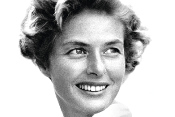 Cartaz oficial do 68º Festival de Cannes homenageia Ingrid Bergman