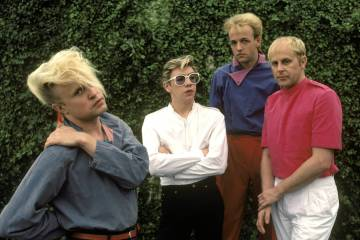 UNITED STATES - JUNE 01:  Photo of FLOCK OF SEAGULLS  (Photo by Ebet Roberts/Redferns)