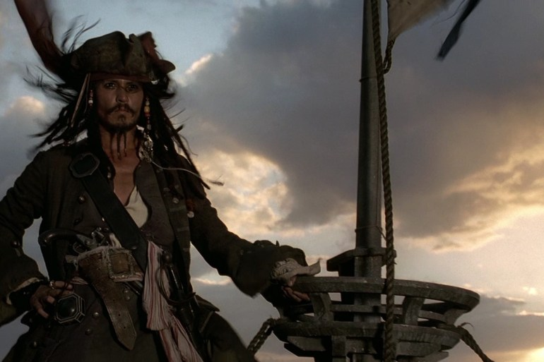 Johnny Depp Piratas das Caraíbas