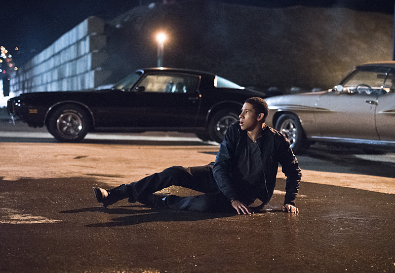 """The Flash -- """"Fast Lane"""" -- Image: FLA212A_0024b.jpg -- Pictured: Keiynan Lonsdale as Wally West -- Photo: Dean Buscher/The CW -- © 2016 The CW Network, LLC. All rights reserved."""