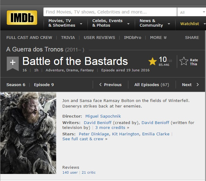 Battle of the Bastards