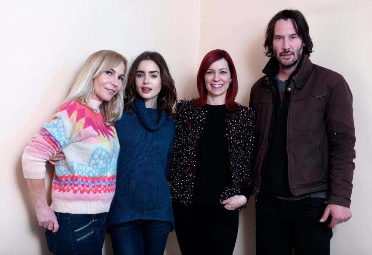 Marti Noxon; Lily Collins; Carrie Preston; Keanu Reeves; To The Bone