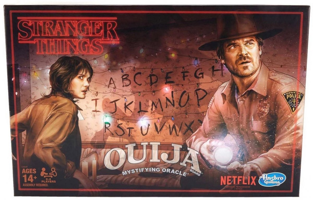 Stranger Things; Ouija board; board games