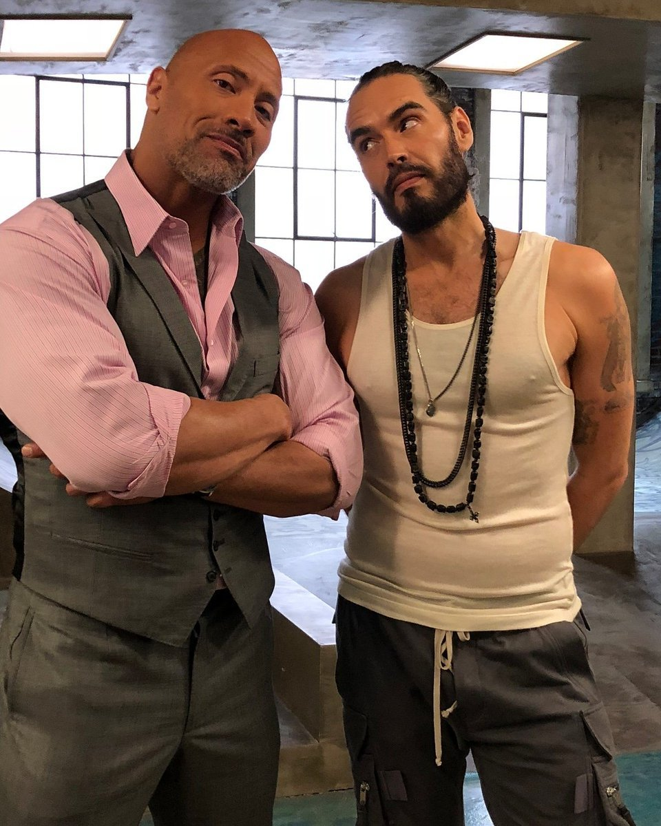 Russel Brand and The Rock