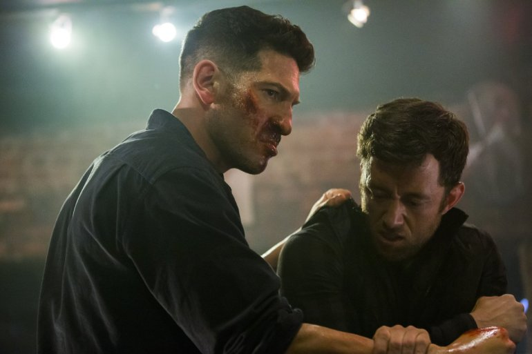 Jon Bernthal como Frank Castle em The Punisher