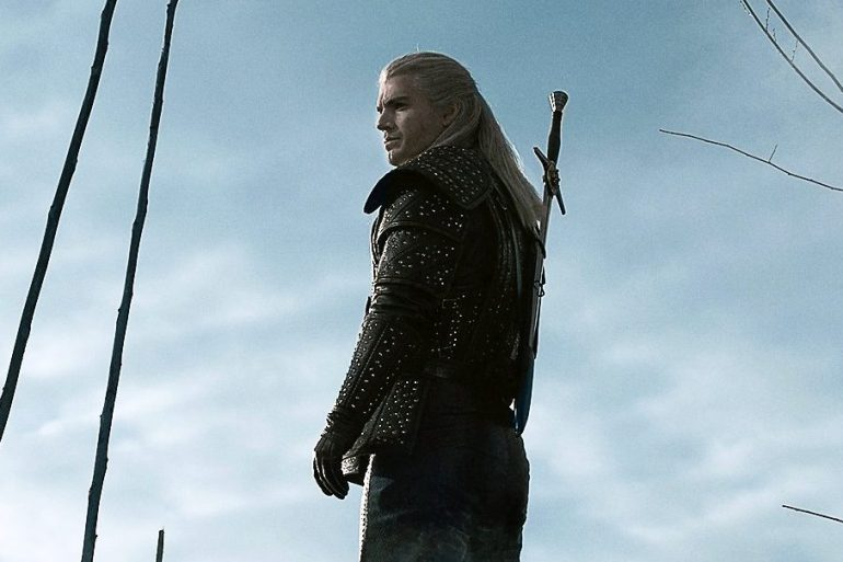 Henry Cavill como Geralt of Rivia em The Witcher da Netflix